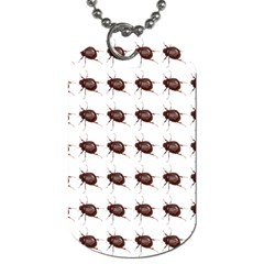 Insect Pattern Dog Tag (One Side)