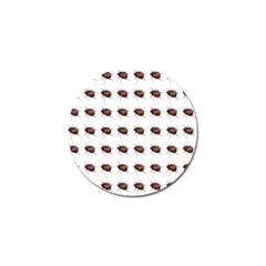 Insect Pattern Golf Ball Marker