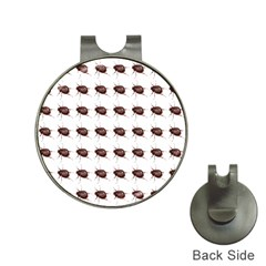 Insect Pattern Hat Clips with Golf Markers