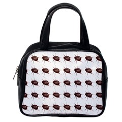 Insect Pattern Classic Handbags (one Side)