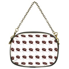 Insect Pattern Chain Purses (One Side)