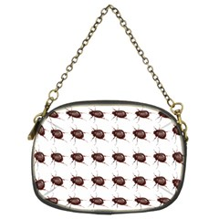Insect Pattern Chain Purses (two Sides)