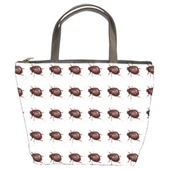 Insect Pattern Bucket Bags