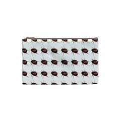 Insect Pattern Cosmetic Bag (small)