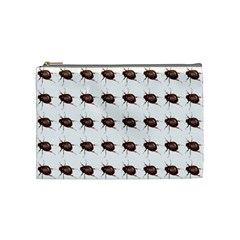 Insect Pattern Cosmetic Bag (Medium)