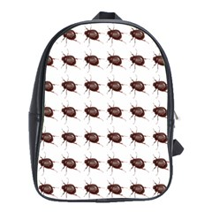 Insect Pattern School Bags (xl)