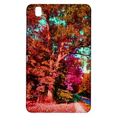 Abstract Fall Trees Saturated With Orange Pink And Turquoise Samsung Galaxy Tab Pro 8.4 Hardshell Case
