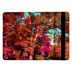 Abstract Fall Trees Saturated With Orange Pink And Turquoise Samsung Galaxy Tab Pro 12.2  Flip Case