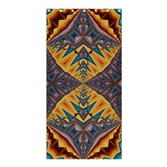 Kaleidoscopic Pattern Colorful Kaleidoscopic Pattern With Fabric Texture Shower Curtain 36  X 72  (stall)
