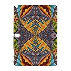 Kaleidoscopic Pattern Colorful Kaleidoscopic Pattern With Fabric Texture Galaxy Note 1