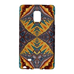 Kaleidoscopic Pattern Colorful Kaleidoscopic Pattern With Fabric Texture Galaxy Note Edge