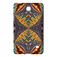 Kaleidoscopic Pattern Colorful Kaleidoscopic Pattern With Fabric Texture Samsung Galaxy Tab 4 (8 ) Hardshell Case