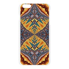 Kaleidoscopic Pattern Colorful Kaleidoscopic Pattern With Fabric Texture Apple Seamless iPhone 6 Plus/6S Plus Case (Transparent)