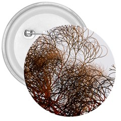 Digitally Painted Colourful Winter Branches Illustration 3  Buttons