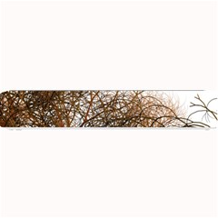 Digitally Painted Colourful Winter Branches Illustration Small Bar Mats