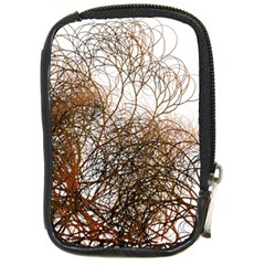 Digitally Painted Colourful Winter Branches Illustration Compact Camera Cases