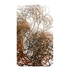Digitally Painted Colourful Winter Branches Illustration Memory Card Reader