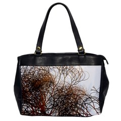 Digitally Painted Colourful Winter Branches Illustration Office Handbags