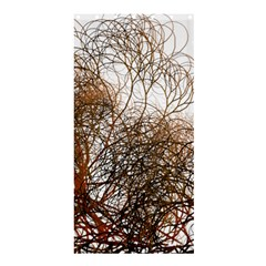 Digitally Painted Colourful Winter Branches Illustration Shower Curtain 36  x 72  (Stall)