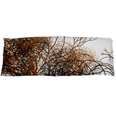 Digitally Painted Colourful Winter Branches Illustration Body Pillow Case (dakimakura)