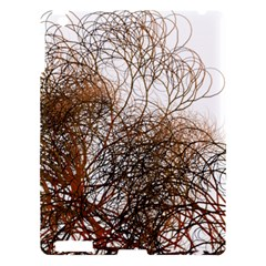 Digitally Painted Colourful Winter Branches Illustration Apple iPad 3/4 Hardshell Case
