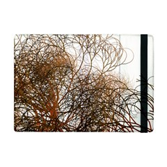 Digitally Painted Colourful Winter Branches Illustration Apple Ipad Mini Flip Case