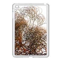 Digitally Painted Colourful Winter Branches Illustration Apple Ipad Mini Case (white)