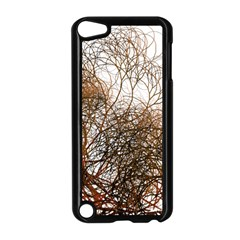 Digitally Painted Colourful Winter Branches Illustration Apple iPod Touch 5 Case (Black)