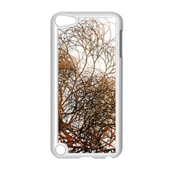 Digitally Painted Colourful Winter Branches Illustration Apple iPod Touch 5 Case (White)