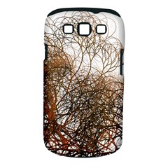 Digitally Painted Colourful Winter Branches Illustration Samsung Galaxy S III Classic Hardshell Case (PC+Silicone)