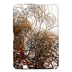 Digitally Painted Colourful Winter Branches Illustration Kindle Fire Hd 8 9