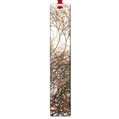 Digitally Painted Colourful Winter Branches Illustration Large Book Marks