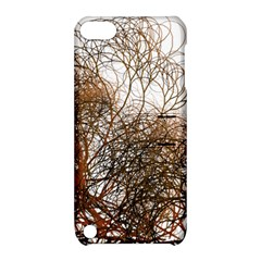 Digitally Painted Colourful Winter Branches Illustration Apple Ipod Touch 5 Hardshell Case With Stand