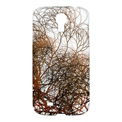 Digitally Painted Colourful Winter Branches Illustration Samsung Galaxy S4 I9500/I9505 Hardshell Case