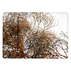 Digitally Painted Colourful Winter Branches Illustration Samsung Galaxy Tab 10 1  P7500 Flip Case