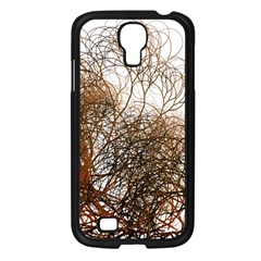 Digitally Painted Colourful Winter Branches Illustration Samsung Galaxy S4 I9500/ I9505 Case (black)