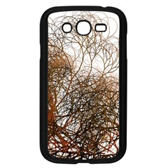 Digitally Painted Colourful Winter Branches Illustration Samsung Galaxy Grand DUOS I9082 Case (Black)