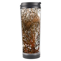 Digitally Painted Colourful Winter Branches Illustration Travel Tumbler