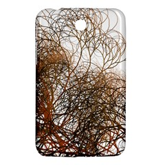 Digitally Painted Colourful Winter Branches Illustration Samsung Galaxy Tab 3 (7 ) P3200 Hardshell Case