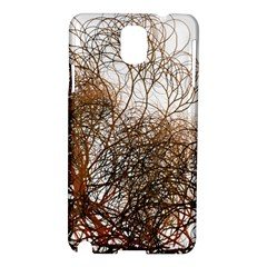 Digitally Painted Colourful Winter Branches Illustration Samsung Galaxy Note 3 N9005 Hardshell Case