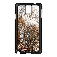 Digitally Painted Colourful Winter Branches Illustration Samsung Galaxy Note 3 N9005 Case (black)