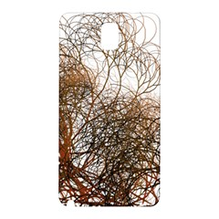 Digitally Painted Colourful Winter Branches Illustration Samsung Galaxy Note 3 N9005 Hardshell Back Case