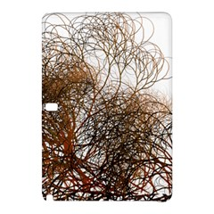 Digitally Painted Colourful Winter Branches Illustration Samsung Galaxy Tab Pro 10.1 Hardshell Case