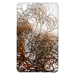 Digitally Painted Colourful Winter Branches Illustration Samsung Galaxy Tab Pro 8 4 Hardshell Case