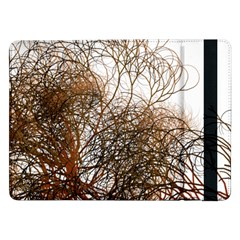 Digitally Painted Colourful Winter Branches Illustration Samsung Galaxy Tab Pro 12 2  Flip Case
