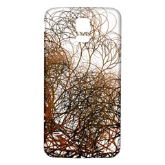 Digitally Painted Colourful Winter Branches Illustration Samsung Galaxy S5 Back Case (White)