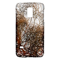 Digitally Painted Colourful Winter Branches Illustration Galaxy S5 Mini