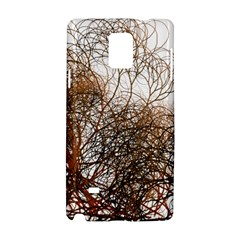 Digitally Painted Colourful Winter Branches Illustration Samsung Galaxy Note 4 Hardshell Case
