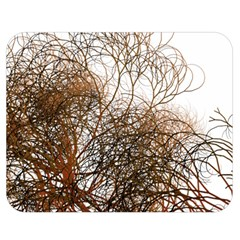 Digitally Painted Colourful Winter Branches Illustration Double Sided Flano Blanket (Medium)
