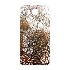 Digitally Painted Colourful Winter Branches Illustration Samsung Galaxy Alpha Hardshell Back Case